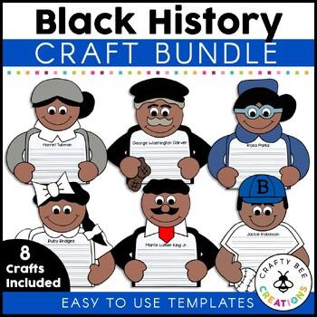 Black History Craftivity Set