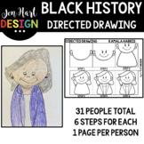 Black History Directed Drawing Growing BUNDLE