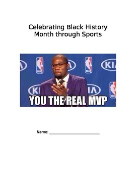 Black History-- Famous African American Athletes Research