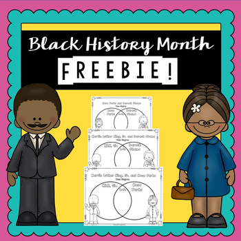 Black History Free Product | | Printable Worksheets | Blac