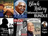 Black History Informational Unit Bundle ~ Parks, Bridges,