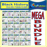 Black History Interactive Foldables MEGA Bundle