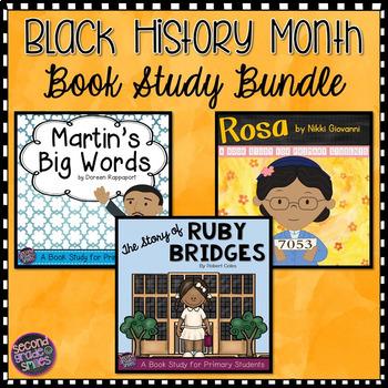 Black History Month Book Studies (Martin's Big Words, Rosa