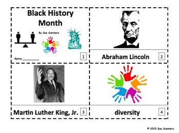Black History Month - 2 Emergent Reader Booklets