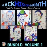 Black History Month Collaboration Poster BUNDLE Including