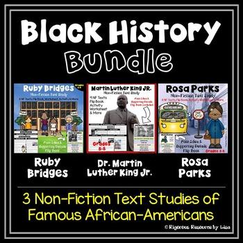 Black History Month Bundle  - Martin Luther King, Jr., Ros