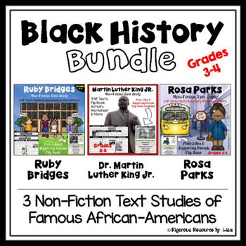 Black History Month Bundle - Martin Luther King, Jr., Rosa