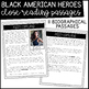 Black History Month Close Reading Biographies