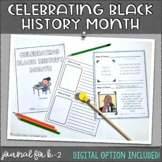 Black History Month Journal
