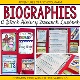 Black History Month Research Report Lapbook Project - 3rd
