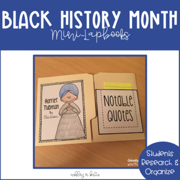 Black History Month: Mini-Lapbooks
