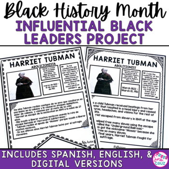 Black History Month: Notable African Americans Infographic