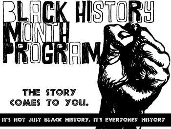 Black History Month Poster & Flyer