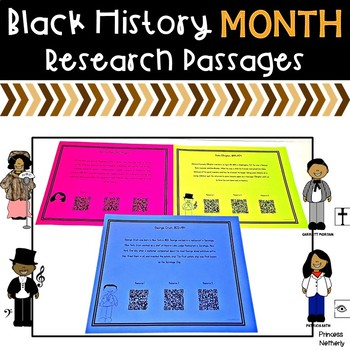 Black History Month Research Passages
