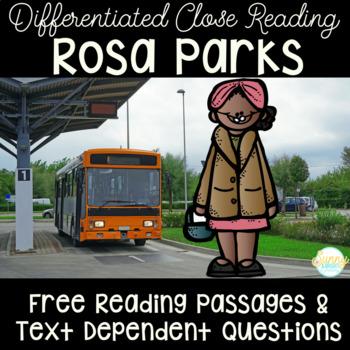 Rosa Parks- Black History Month