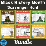 Black History Month Scavenger Hunt Bundle