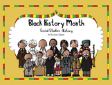 Black History Month Social Studies - History Kindergarten