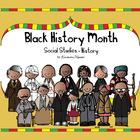 Black History Month Social Studies - History Kindergarten and 1st Grade
