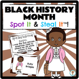 Black History Month Spot It & Steal It