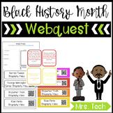 Black History Month Webquest Bundle