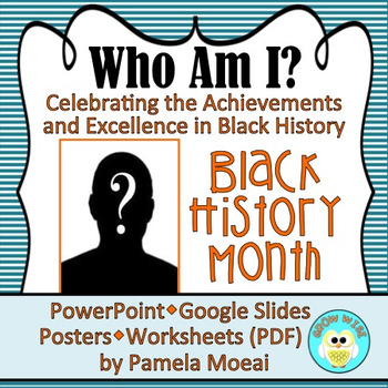 "Black History Month ""Who Am I?"" Recently Updated!"