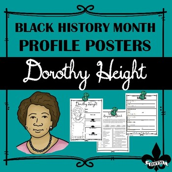 Black History Profil Poster: Dorothy Height