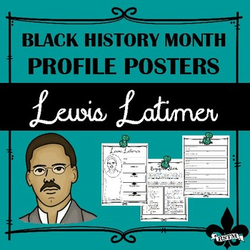 Black History Profil Poster: Lewis Latimer