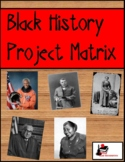 Black History Project Matrix