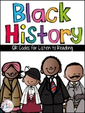 Black History QR Codes: 16 Stories for Your Daily Five Lis