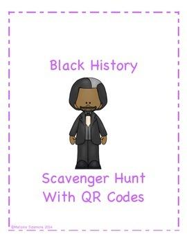 Black History Scavenger Hunt with QR Codes