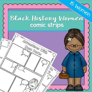 Black History Women Comic Strips | Printable Worksheets |