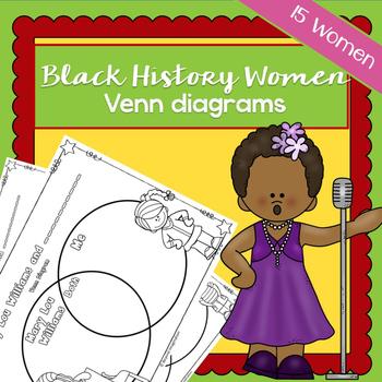 Black History Women Venn Diagrams | Printable Worksheets |