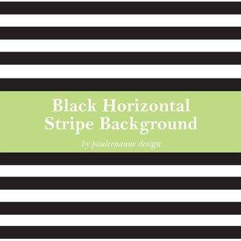 Black Horizontal Stripe Background