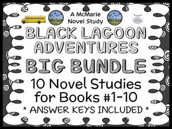 Black Lagoon Adventures BIG BUNDLE (Mike Thaler) 10 Novel