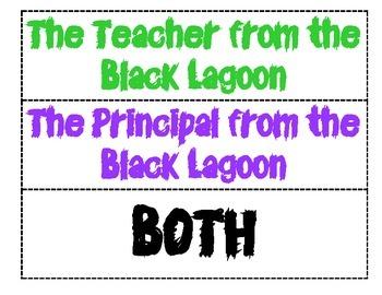 Black Lagoon Comparison (Teacher VS Principal)