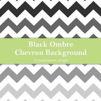 Black Ombre Chevron Background