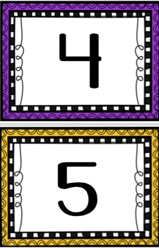 Black Out (Understanding Numbers/ Number Sense Game)