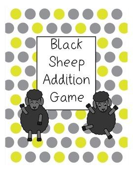 Addition Card Game: Black Sheep