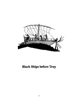 """""""Black Ships Before Troy"""" Student's Notebook"""