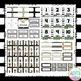 Black White Gold Classroom Decor - EDITABLE