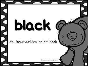 Black-an interactive color book