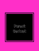 Black and Brights Teacher Binder Covers!