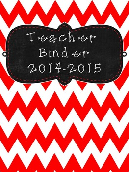 UPDATED!!! 2016-2017 Black and Red Editable Teacher Organi
