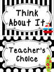 Black and White Beach themed Behavior Clip Chart-7 Cards