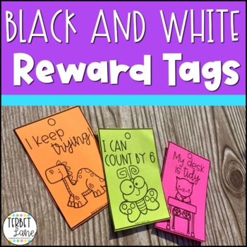 Black and White Brag Tags