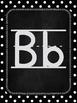 Black and White Classroom Alphabet