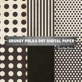 Digital Paper - Black & White