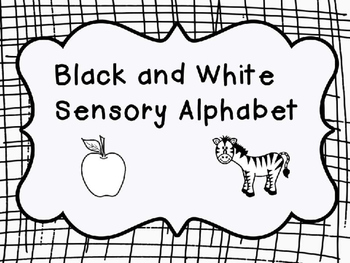 Black and White Multi-Sensory Alphabet