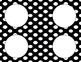 Black and White Polka Dot Classroom Labels and Tags
