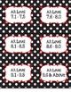 Black and White Polka Dot Genre and AR Classroom Library K